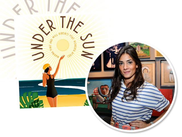 Além de nova música, Marina está de malas prontas para participar do Ski Cup, na França