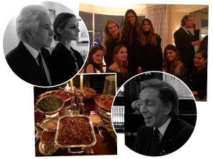 Por dentro do jantar pós-desfile da Valentino em Paris