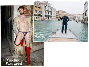 Astro pornô gay é a cereja da campanha de Vivienne Westwood