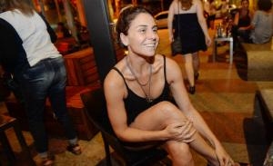 Giovanna Antonelli e mais glamurettes no jantar dessa segunda no Spot