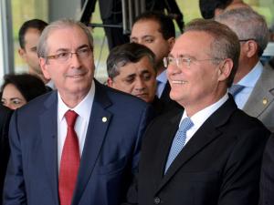 """Ambiente do Congresso não é o """"almejado"""" por Executivo, diz Cunha a Dilma"""