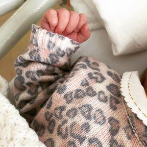 Nasce Camila, primeira filha de Kim Hamence e Dinho Tranchesi