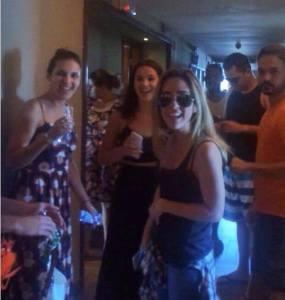 Bruna Marquezine e Tatá Werneck fazem barulho em Salvador