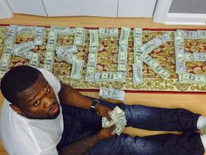 Falido ou não? 50 Cent ostenta no Instagram e pode se dar mal