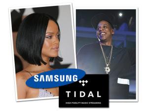 Samsung interessada em comprar o Tidal, de Jay-Z e Rihanna? Eita…
