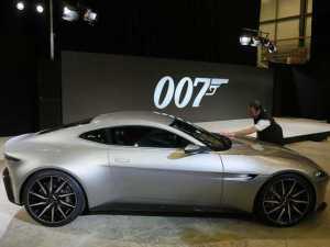 """Aston Martin criado para """"007 Spectre"""" vai a leilão por R$ 6 milhões"""