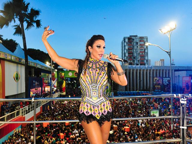 Ivete Sangalo vai descer dos trios para reinas na passarela do samba carioca