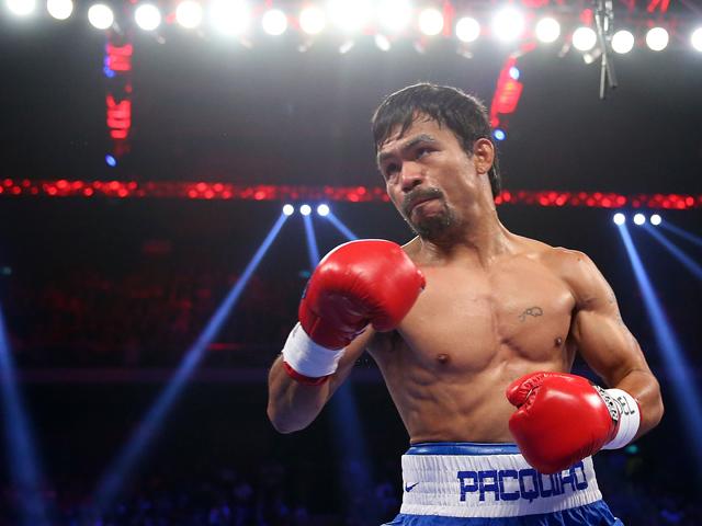 O boxeador filipino Manny Pacquiao perde contrato com a Nike Créditos: Getty Images