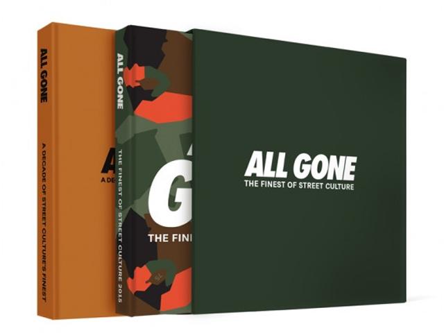 Sneakers, tênis, toy arts, acessórios e fotografias são colocadas nas mais de 200 páginas de cada edição do livro retrospectiva