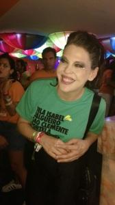 Após 13 anos, Barbara Paz volta a desfilar na Sapucaí