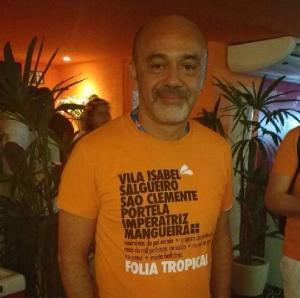 Christian Louboutin elege escola preferida no Carnaval do Rio