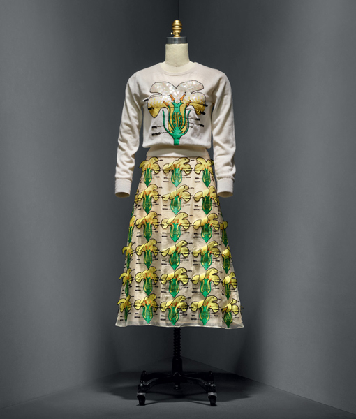 """Look Christopher Kane - """"Manus x Machina: Fashion in an Age of Technology"""""""