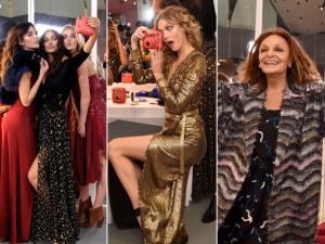 Diane Von Furstenberg arma pista de dança na semana de NY