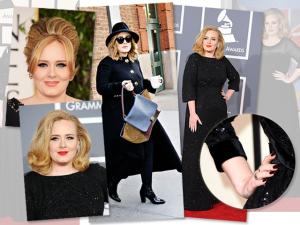 Glamurama Ama! O estilo gótico, suave e clássico de Adele