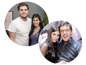 Duda e Sofia Derani chegam ao Rio só para ver bloco de Anitta