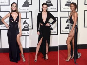 Pele à mostra rouba a cena na noite do Grammy