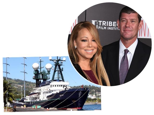 Mariah Carey e James Parker planejam casamento no iate dele, o Artic P créditos: new limited/getty images