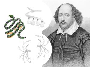 Obras famosas de Shakespeare viram joias pelas mãos da joalheria Sara