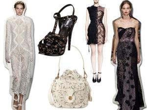 De cara nova, a renda ganha espaço na moda e invade as araras