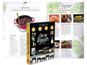 Receitas de chef brasileira estão no novo livro de François-Régis Gaudry