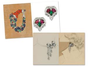 Sotheby's inaugura exposição com ilustrações de joias icônicas