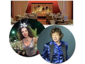 Mick Jagger e Vanessa da Mata: cada vez mais íntimos