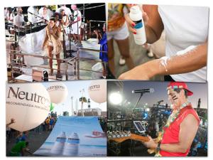 Cenas da folia de Neutrogena nos blocos de Carnaval em Salvador
