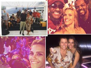 Regina Casé ganha festa de aniversário na casa de Gringo Cardia