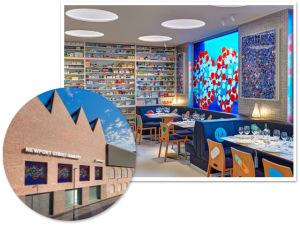 O artista plástico Damien Hirst inaugura restaurante em Londres