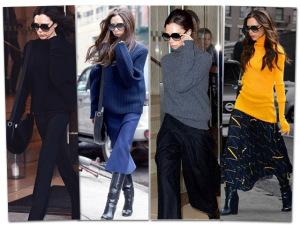Victoria Beckham aposta em blusas com volume para o inverno