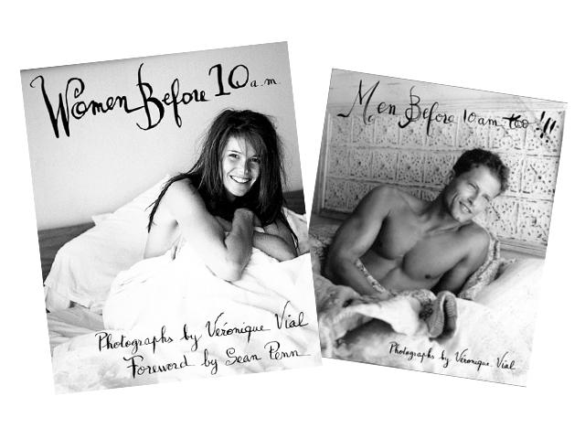 As duas edições dos livros que trazem uma coletânea de cliques com celebridades antes das 10 da manhã