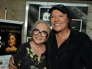 Nathalia Timberg e Wolf Maya inauguram teatro e peça no Rio