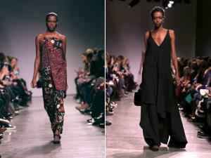Zac Posen alia conforto a criações exuberantes e aposta em moda étnica