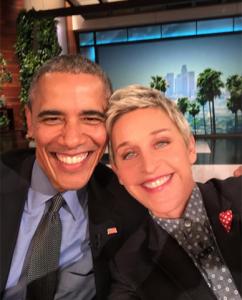 Ellen Degeneres publica foto que todos gostariam de fazer