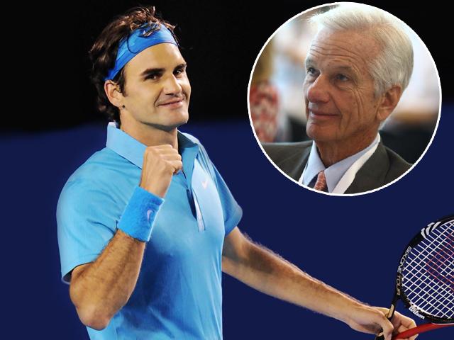 Federer e Leman: amor pelo tênis virou negócio