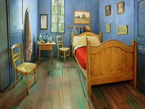 Quarto de Van Gogh está disponível no Airbnb