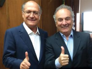 Tripoli também tira foto com Alckmin e reduz mal-estar entre tucanos