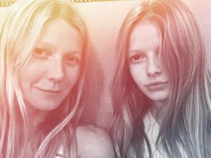 Gwyneth Paltrow mostra como a filha Apple está grande
