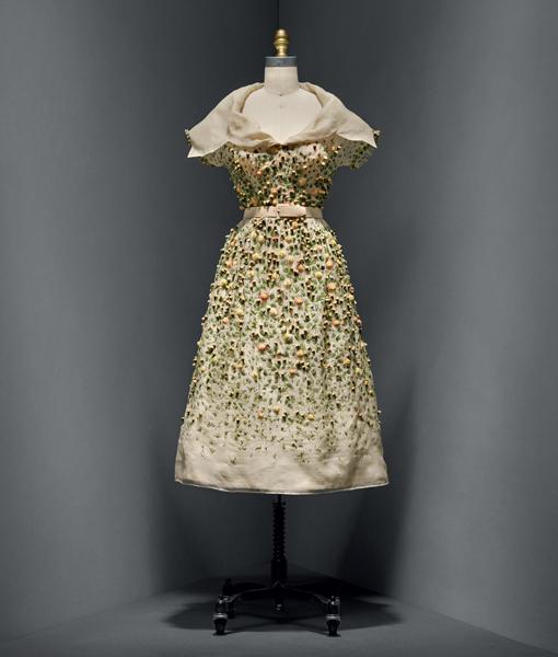 "Vestido Christian Dior - ""Manus x Machina: Fashion in an Age of Technology"""