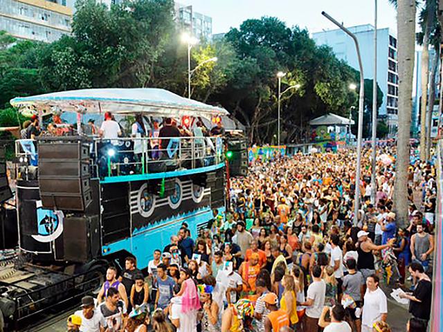 Banda Baiana System agita o carnaval de Salvador Créditos: Agecom