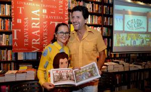 De Adriana Varejão a Fernanda Torres em lançamento de livro no Rio