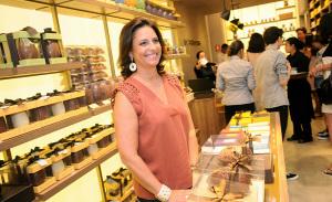 Inauguração da Cau Chocolates no Iguatemi São Paulo