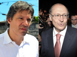 Cúpula do PT vê apoio de Alckmin a Doria como aliança branca
