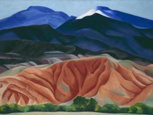 Retrospectiva reúne obras de Georgia O'Keeffe no Tate Modern