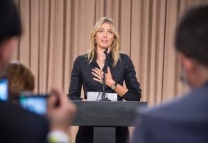 Sharapova perde mais de R$ 33 milhões em publicidade
