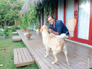 A vida de sonho do decorador Fernando Droghetti, o Jacaré, em Trancoso