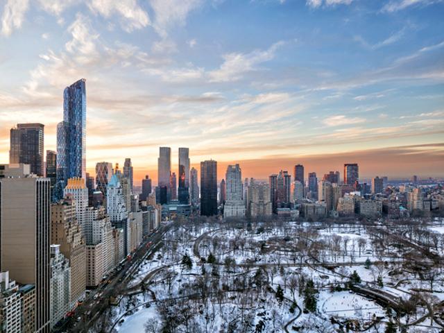 A vista da suíte do The Pierre, em Nova York