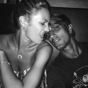 Candice Swanepoel e modelo brasileiro vão ser pais pela primeira vez