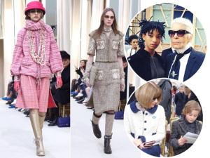 Chanel aposta em uma mademoiselle grunge para o outono/inverno 2016