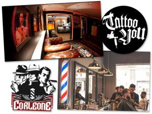 Barbearia Corleone e Tattoo You se unem em um único espaço na Vila Olímpia